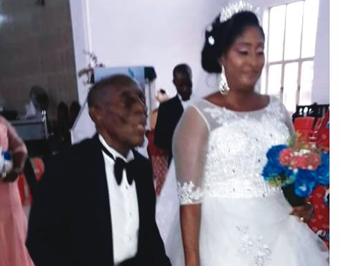 , I can't continue to stay alone, 87-year-old lawyer defends wedding, Effiezy - Top Nigerian News & Entertainment Website