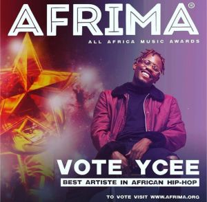 "Ycee bags ""Best Artiste In African Hip Hop"" nomination in 2017 All Africa Music Awards #AFRIMA2017"