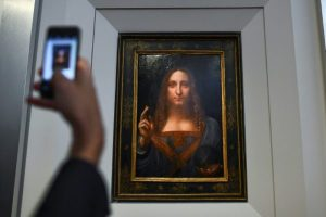 Da Vinci painting of Jesus to be sold for $100m