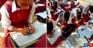 Unbelievable: See the Indian School Where All Students Learn to Write with Both Hands (Video)