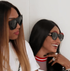 VIDEO: Governor Ajimobi's daughter Abisola features in 'Keeping up with the Kardashians'