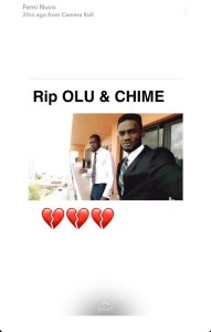 Video from DJ Olu Abiodun & Chime Amaechi's last night with money in boot of car