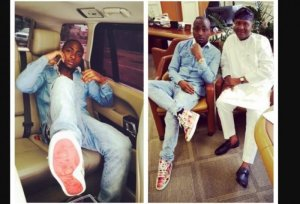 """""""Dangote carried baby Davido home after his christening"""" – Aig-imoukhuede reveals"""