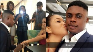 Comedian Ebiye's proposal to his girlfriend was a publicity stunt