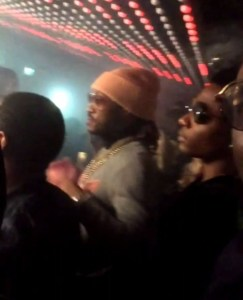 Wizkid clubs with Future after a successful concert