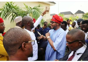 E-money, his Wife and Kcee storm Anambra, welcomed by kinsmen (Photos)