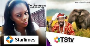 Startimes shades TSTV on Twitter (See Tweet)