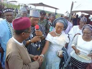 Tiv King gives out his daughter in marriage for N1000 as bride price