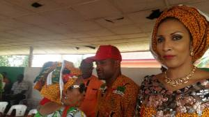 Beautiful Bianca Ojukwu at APGA campaign ahead of Anambra Governorship Election (Photos)