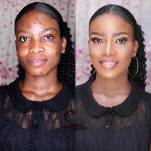 Wonderful make-up transformation
