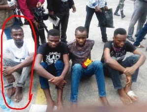 Police Parade Burna Boy's Manager And The Students Hired To Rob Mr 2kay (Photo & Video)