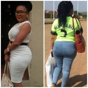 Female Corper Flogs SS2 Student Who Asked Her Out Because Of Her Big Ass (Photo)