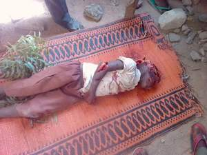 Man kills a Primary two student (Graphic Photos)