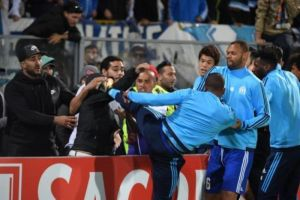Europa League: Patrice Evra makes history