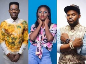 Love Triangle: Simi chooses Adekunle Gold over Falz (Video)