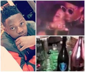 Viral Video Of President Robert Mugabe's Son Pour Champagne On His N21m Watch During Party (Video)