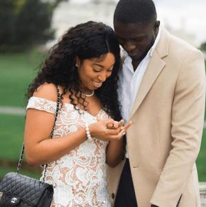 Pastor Chris Oyakhilome's daughter Carrisa Sharon shares photos from her engagement day