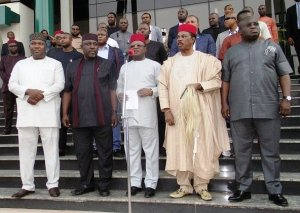 Increase allocation that we receive – South East & South South Governors tell Buhari