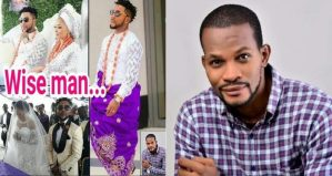 """You Are A Wise Man, Not Like Those Who Think Wedding Is A National Jamboree"" – Uche Maduagwu Praises Oritsefemi"