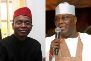 Even If You Get PDP's Ticket In 2019, You Can Never Be A Threat To Buhari – El-rufai To Atiku