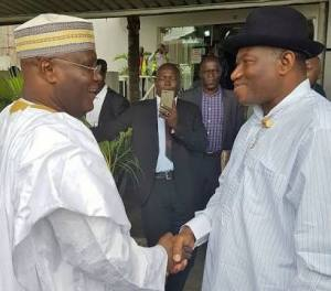 You can't be a Nigerian President without Obasanjo's approval, reconcile with him – Goodluck Jonathan tells Atiku