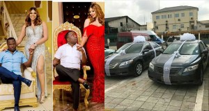 Nigerian Couple Give Out Cars As Souvenirs At Their Wedding (Photos)