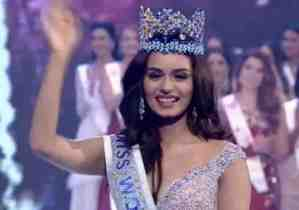 Miss India wins 2017 Miss World Pageant