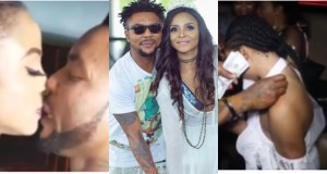 Oritsefemi's wife calls out woman who came to her matrimonial bed and slept with her husband while she was at work