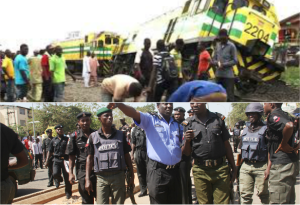 Many feared dead after train derails in Agege, Lagos