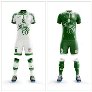 Check Out The New Super Eagles Jersey For Russia 2018 (Photo)