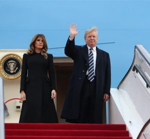 Trump arrives Beijing on China state visit