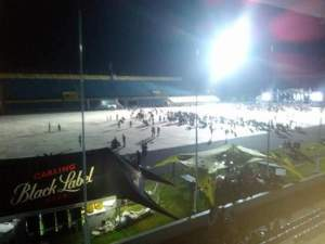 Low turn-out At Wizkid's Concert In Botswana (Photos)