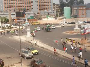 Keke Drivers Protest Ban By Governor Okorocha In Imo State (Photos)