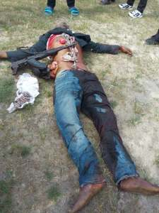 , Armed Robber With Charms Killed By SARS. (Graphic Photos), Effiezy - Top Nigerian News & Entertainment Website