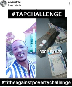 Majid Maddest Supports Daddy Freeze's Tithe Against Poverty Challenge With N900k (Photo)