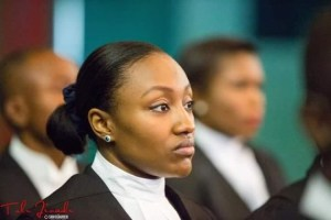 #Hijab: President Buhari's daughter, Halima called to Bar and she did not wear Hijab (Photos)