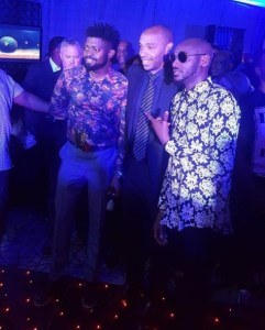Arsenal Legend, Thierry Henry pictured with Nigerian celebrities (Photos)