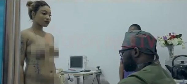 Tonto Dikeh undergoes plastic surgery - (Photos & Video)