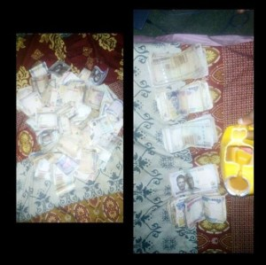 Lady Saves Over N360k In Her Piggy Bank (Photos)