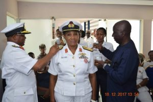 , Navy Promotes First Female Nurse In Nigeria To A One-Star General (Photo), Effiezy - Top Nigerian News & Entertainment Website