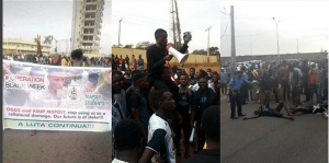 MAPOLY Students Brutalized For Protesting Delay In Semester Examination (Photos)