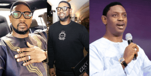Coza Pastor, Biodun Fatoyinbo volunteers to pay for a girls all expense trip to preach but rudely declines a male follower asking for the same favour (Screenshots)