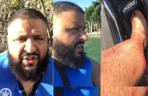 DJ Khaled escapes death in Jet Ski Accident (Photo & Video)