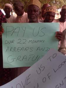 Kogi pensioners protest non-payment of 22-month allowances (Photos)