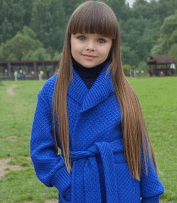 6-Year Old Russian Child Model, Anastasia Knyazeva Hailed As The Most Beautiful Girl In The World