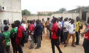 SHOCKING: Watch as workers are forced to swear an oath because of a theft (Video)