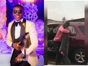 "Small Doctor buys a car for his producer ""2T On The Beat"" (Photo & Video)"