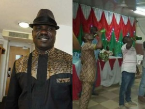 Special Adviser To Ebonyi State Governor, Chief Ali Odefa Organises Drinking Contest As Talent Hunt Program (Photos)