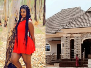 Actress, Chizzy Alichi Builds A House For Her Parents. (Photos)