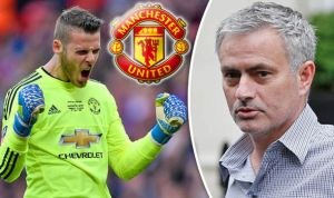 'David De Gea is the third best goalkeeper in Manchester United Squad' – Mourinho